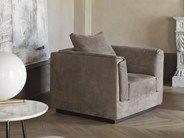 Descarga el catálogo y solicita al fabricante Gentleman   sillón By flou, sillón tapizado con brazos diseño Carlo Colombo, Colección gentleman