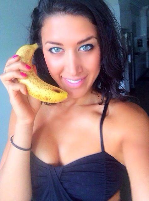 Ripe bananas are so good!