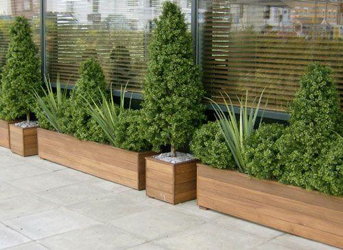 Oltre 25 fantastiche idee su muro con alberi su pinterest - Piante finte esterno ...