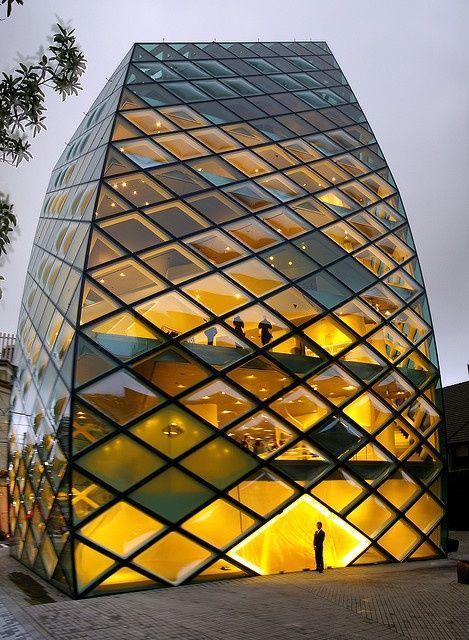 Prada building, Herzog  de Meuron Architekten, Tokyo. (aka The Pineapple).