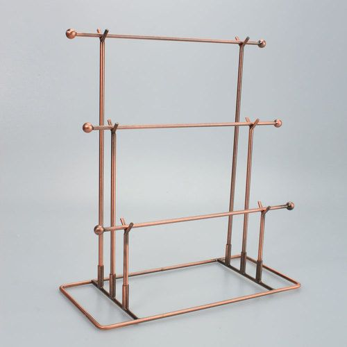 New Bronze T 083 Necklace Jewelry Display Stand Rack Holder Hot Selling   eBay