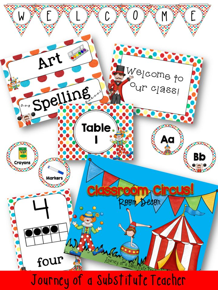 Classroom Decor Packs : Best images about carnival classroom on pinterest
