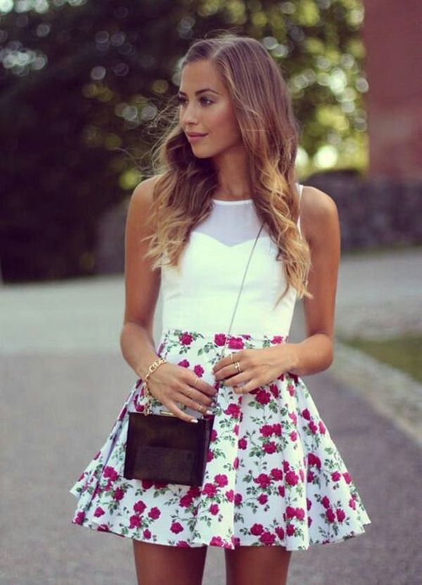 22 best images about Skater skirt on Pinterest | Skirts, Pink crop ...