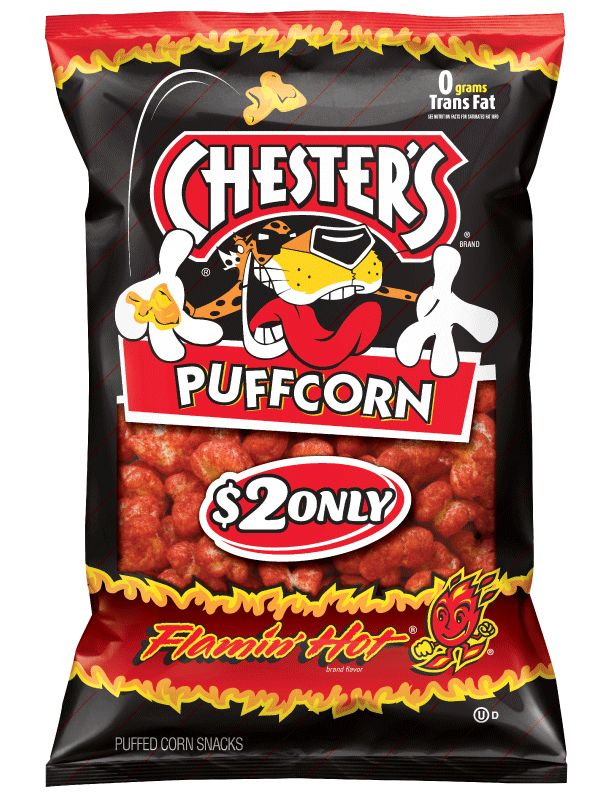 Chesters Puffcorn Flamin' Hot (Pack NATALiE11