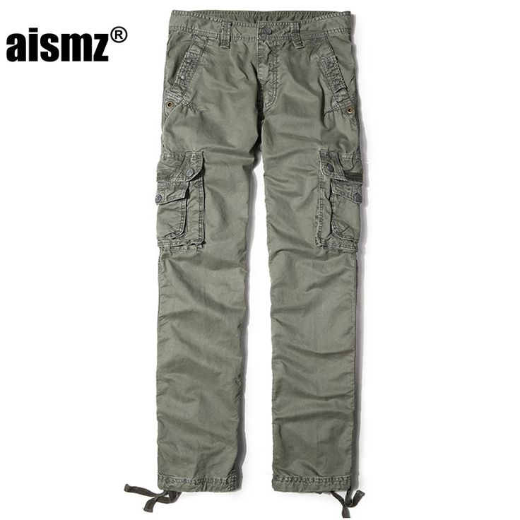 mens haircut Aismz High Quality Men's Army Cargo Pants Casual Mens Pant Multi Pocket Military Tactical Militar Work Trousers For Men 3287 -- Details on this product can be viewed by clicking the VISIT button