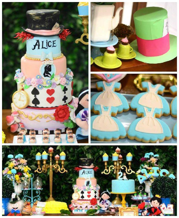 Fiesta temática de Alicia en el país de las maravillas - http://fiestas-infantiles.com/fiesta-tematica-de-alicia-en-el-pais-de-las-maravillas/