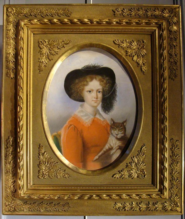 Portrait d'Une Jeune Fille Au Chapeau