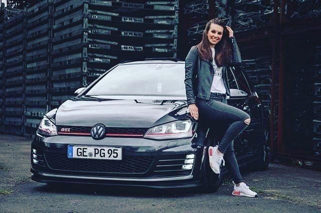 Volkswagen Vwgolf Vwgti Vwgirl Vw Golf Girl Deutschland Germany Mk7 Tuning Car Auto Love Carlifestyle Volkswagen Golf Volkswagen Vw Golf Variant