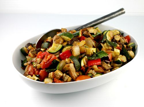 Roasted Ratatouille-ever since the movie, I have wanted to make ratatouille.
