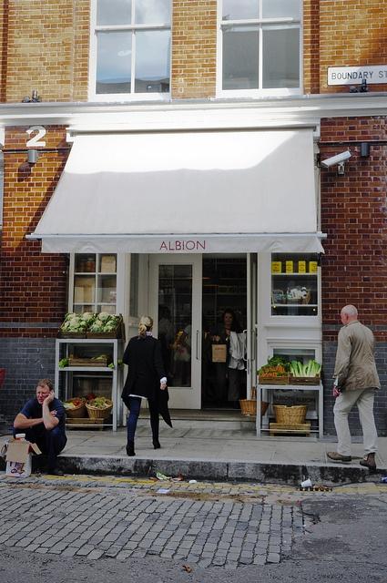 Albion Café | Shoreditch, London