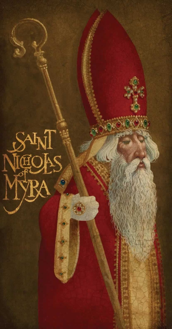 Saint Nicholas of Myra  Sinterklaas 5 december.....
