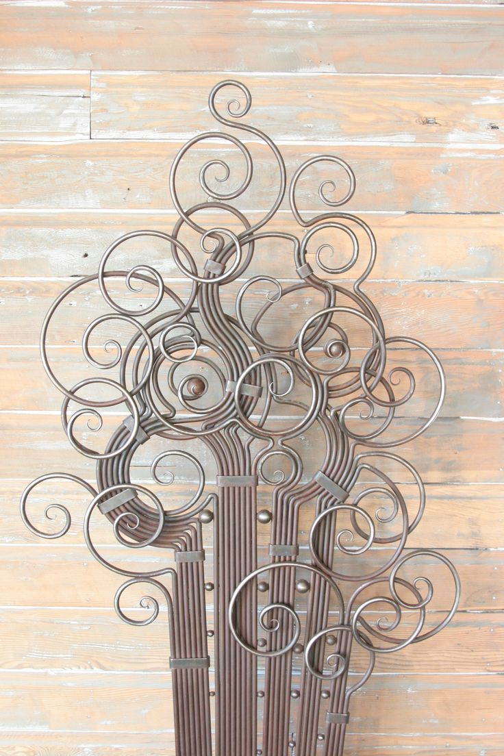 Hand Forged Metal Rod Fine Art Panel