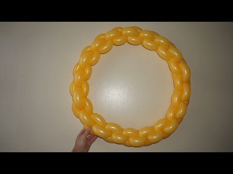 Balloon Ring. How to make balloon ring - YouTube