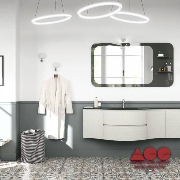 Step into a modern and elegant bathroom next time you get home. Bathroom YO15 collection.  #ArredoCasaGroup #madeinitaly #custommade #luxury #italiandesign #homerenovations #BathroomYO15 #home #options