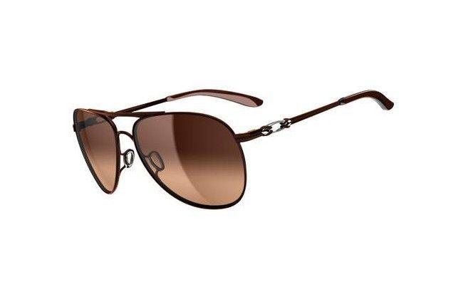 Oakley Daisy Chain Brunette Dark Brown Gradient Sunglasses  $56.80 http://www.bigbootshotsale.com/