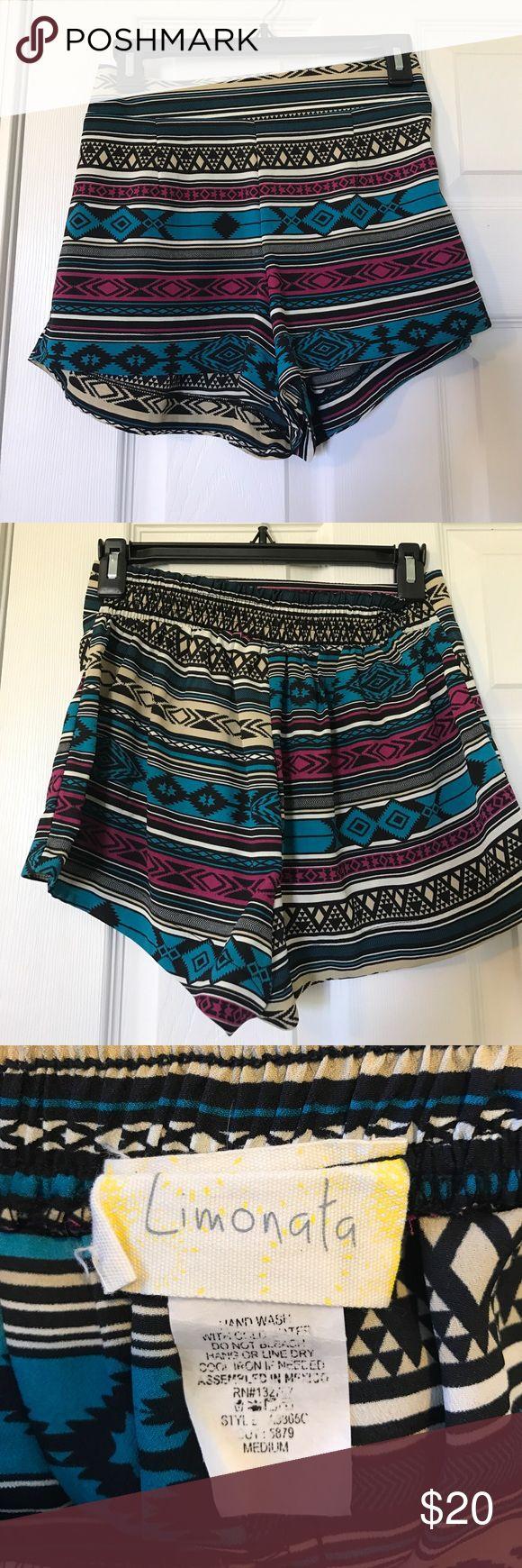 Aztec print shorts Worn once limonata Shorts