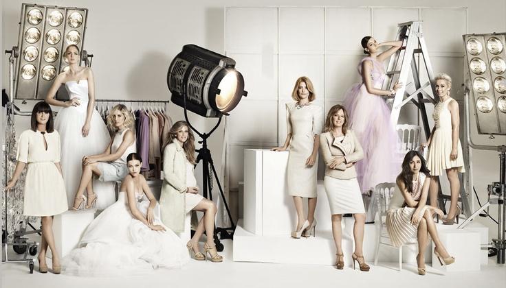 'Kardashian style' photoshoot for the bridal party
