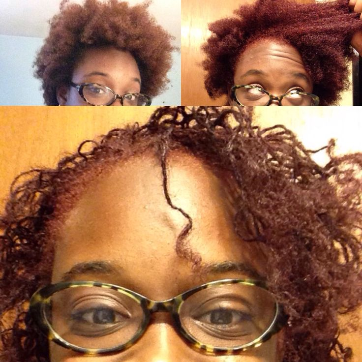 Before color, after color, & after sisterlocks ...