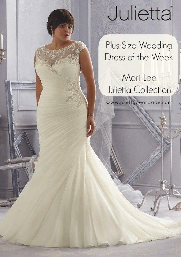 Mori Lee Plus Size Julietta 3163 Collection Wedding Dress sz 22 ...
