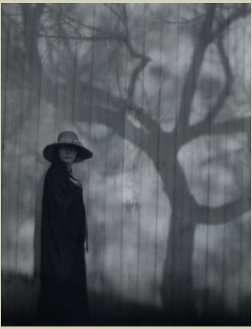 """birdsong27:    Edward Weston - Prelude to a Sad Spring (Margrethe Mather), 1920.  (Imogen Cunningham described the image as """"poetic"""" and """"full of dreams and, according to Imogen, Dorothea Lange """"still clings to it as her first love"""".)"""
