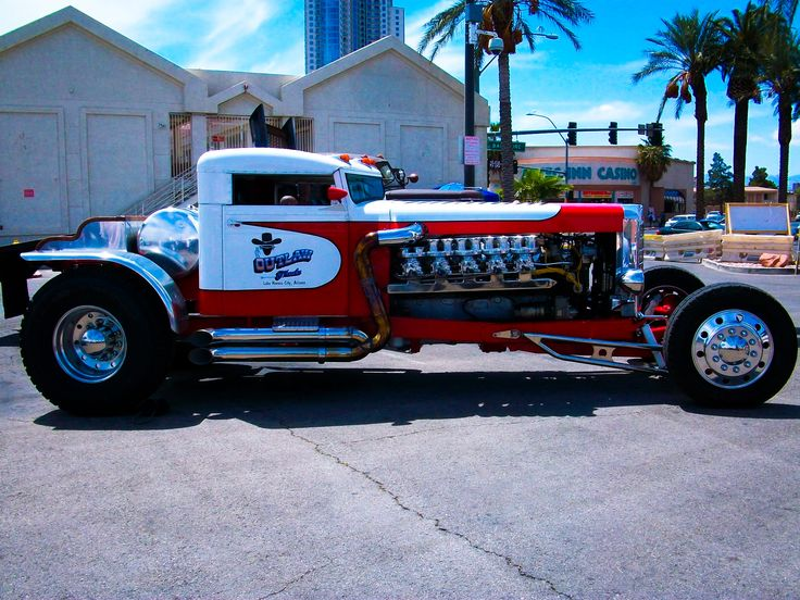 Custom Peterbilt Hot Rod Truck Outlaw Trucks Lake Havasu