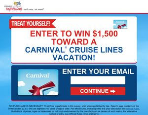 Best 25 carnival cruise coupons ideas on pinterest cruise freebie coupons 1500 carnival cruise sweeps fandeluxe Gallery