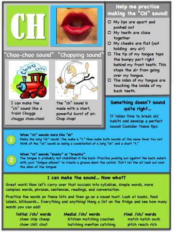 Ms. B the SLP: Articulation Handouts 2! for /l/ and /ch/. Pinned by SOS Inc. Resources. Follow all our boards at pinterest.com/sostherapy/ for therapy resources.