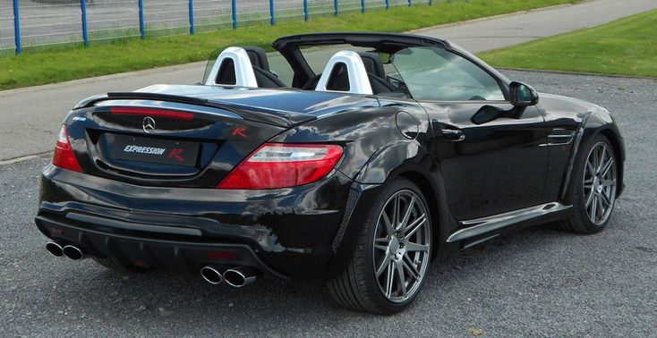 In an effort to enhance the looks of the Mercedes SLK and making it more sporty, ExpressionMotorsport has come up with a very thorough wide body kit. Description from autofixx.com. I searched for this on bing.com/images