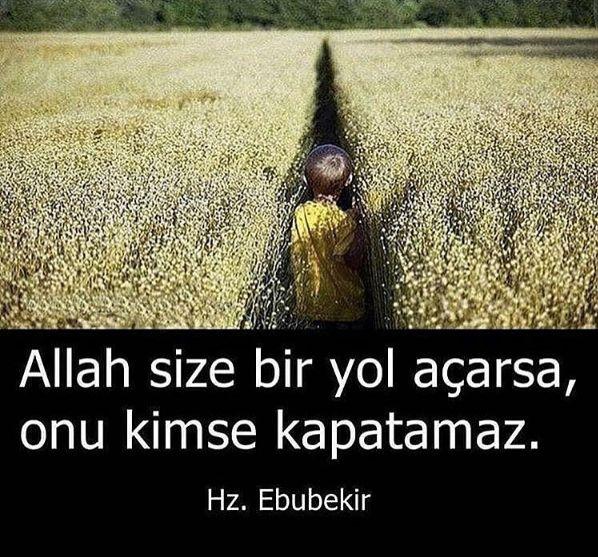 Allah size bir yol açarsa, onu kimse kapatamaz.