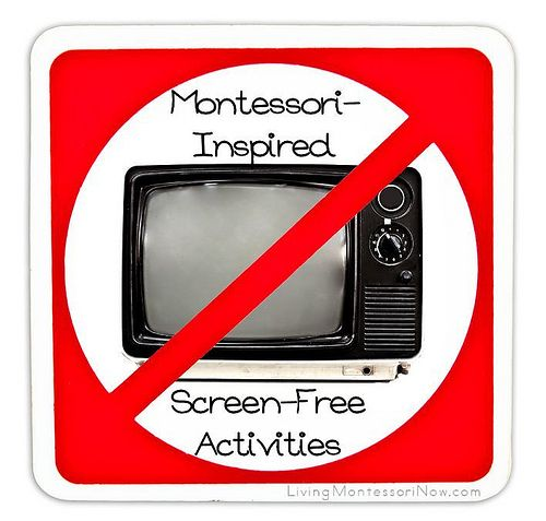 Montessori Monday – Montessori-Inspired Screen-Free Activities (even though Montessori activities are by nature screen free, you'll find lots of fun alternatives to screen time here)