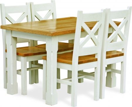 Dining table | white oak | Discount Furniture Stores NI