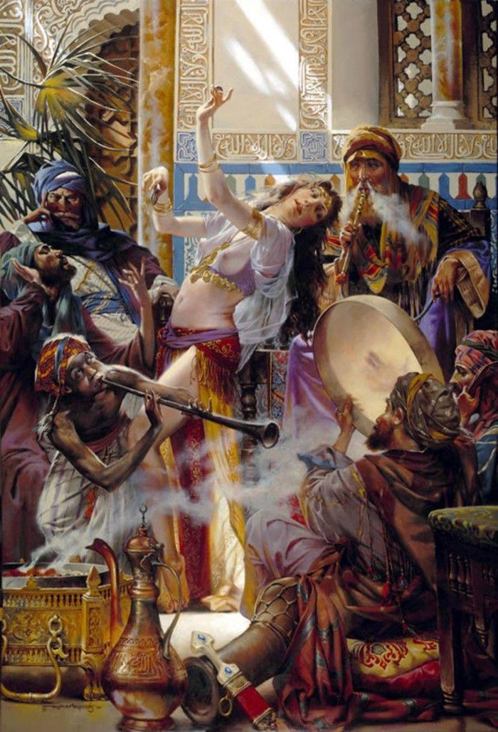 Секс египетские художники