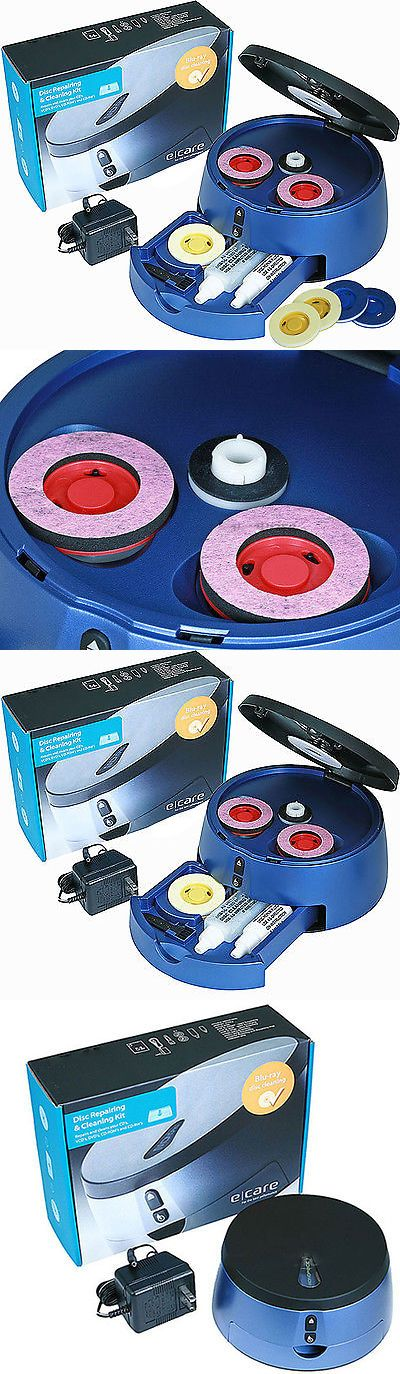 Disc Repair and Disc Cleaning: Dvd Cd Blu-Ray Game Disc Scratch Repair And Cleaner Kit Machine Disk Recover (New) -> BUY IT NOW ONLY: $34.9 on eBay!