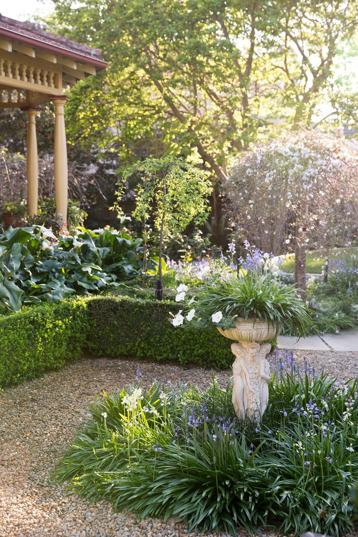A Lush Heritage Garden in Sydney. Words by Georgina Reid. This story is part of our monthly gardens collaboration with The Design Files. All images by Jason Busch supplied by Bates Landscape.