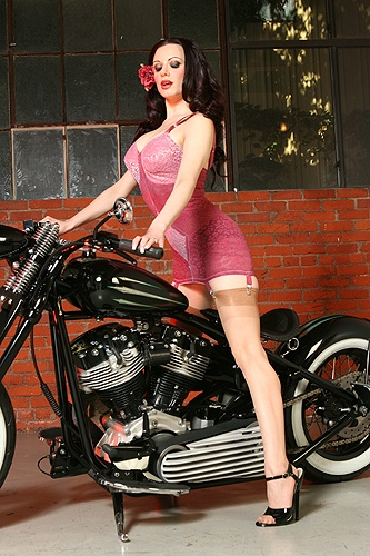she can come get on my hog