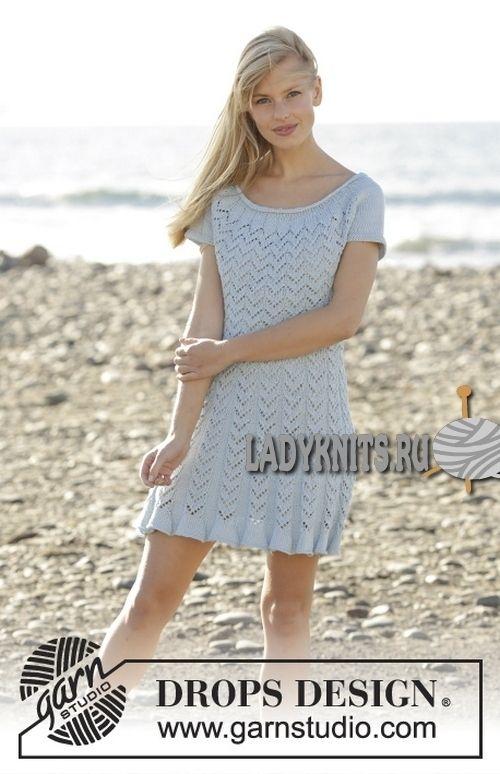 Платье Marie (вязание спицами)