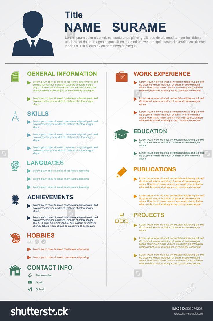 11 best resume ideas images on pinterest