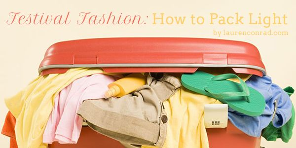 This may help you when you are packing for your trip to the seaside!  Ah, if only ............   Festival Fashion: How to Pack Like a Pro