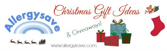Christmas Gift ideas & Giveaways!!  www.allergysave.com