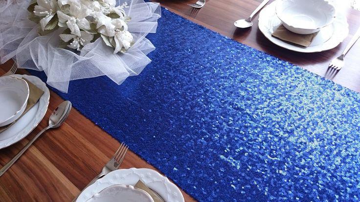 17 Best Ideas About Navy Blue Table Runner On Pinterest