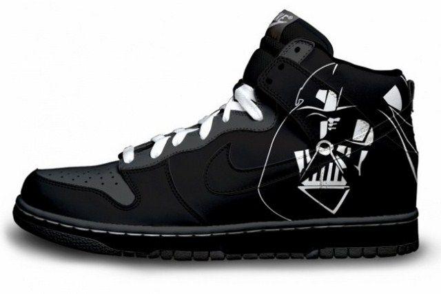 super popular b729c 4e2b7 ... deviantART Nike  Can t find Yoda or Chewwy but these are phenomenal ·  Custom SneakersNike SneakersCustom ShoesStar Wars  Star ...