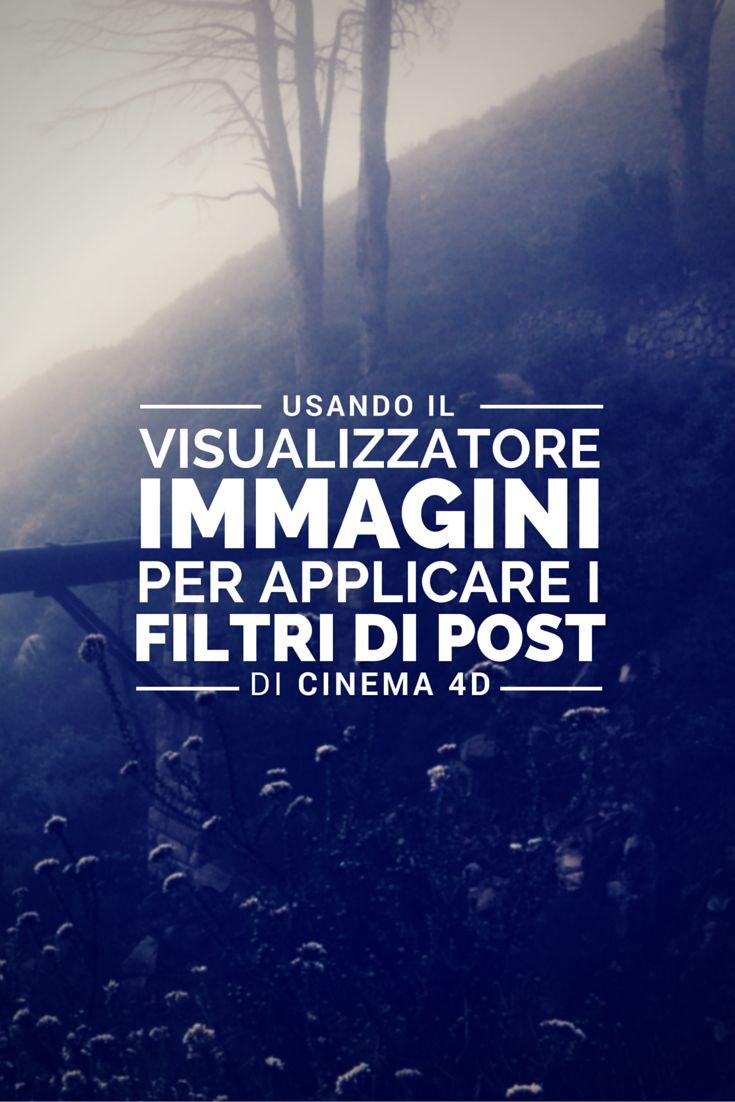 Ora Carlo Macchiavello ci insegna ad utilizzare il visualizzatore immagini per applicare i filtri di post in Cinema 4D. Clicca qui per iscriverti subito al corso Cinema4D da noi: http://www.espero.it/corsi-cinema-4d?utm_source=pinterest&utm_medium=pin&utm_campaign=3DArchitecture