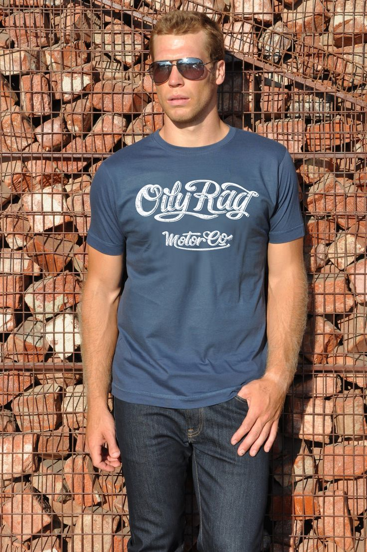 OILY RAG MOTOR CO BIKER AND HOT ROD T SHIRT