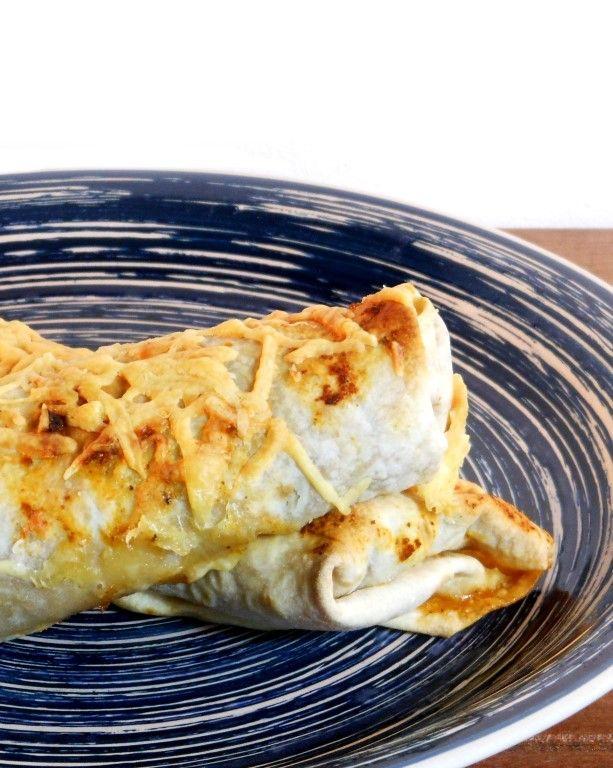 Voor het eerst helemaal van scratch Mexicaanse enchiladas gemaakt... En lekker! Zoveel meer smaak dan zo´n pakket van de Knorr... ;)