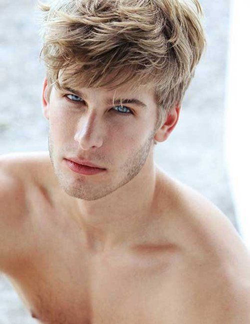 Hot guys with blond hair and blue eyes