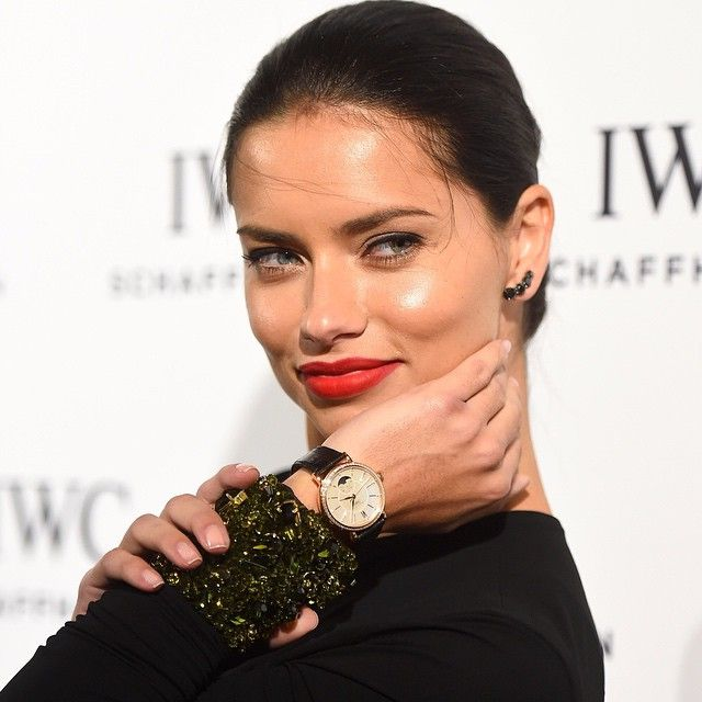 @adrianalima is sporting her @iwcwatches at @artbasel Miami this year (well, technically last). She was in attendance at IWCs launch of the Portofino Midsize. Now available at JB Hudson! #iwcwatches #artbasel #artbaselmiami #adrianalima #womensfashion #supermodel