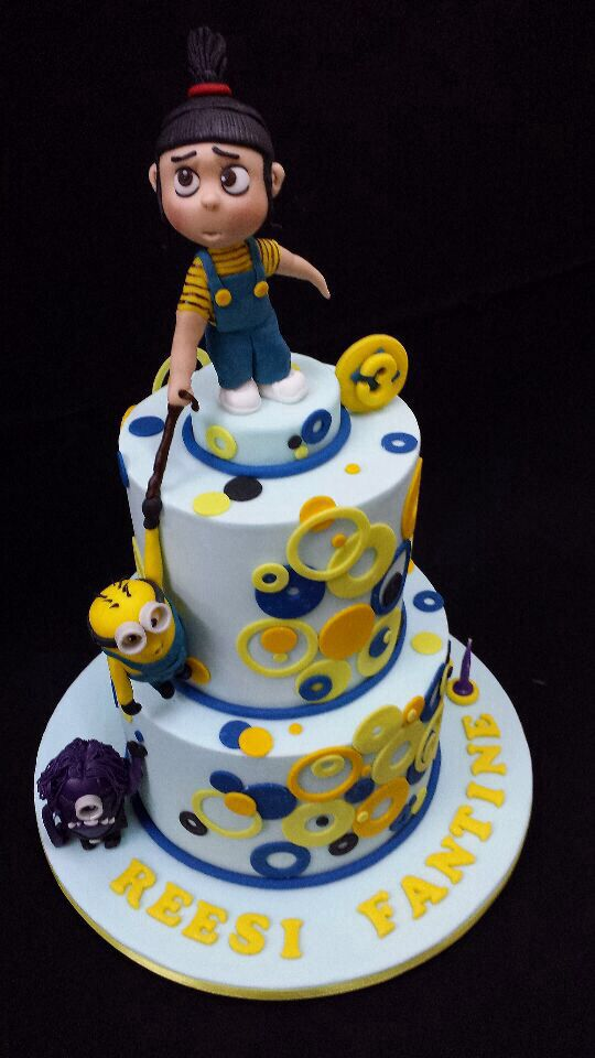 Cake Me Artinya : 17 Best images about Agnes despicable me cakes on ...