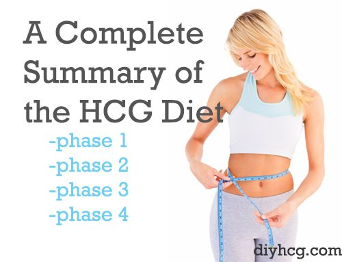 Read the summary of the HCG diet here--- clear, easy, and simple explanation of the HCG diet!