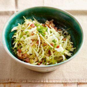 Bayrischer Krautsalat mit Speck