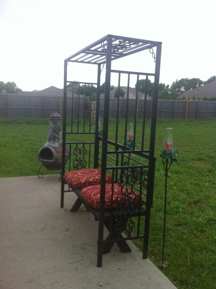 """I have this stuff from a canvas gazebo that blew apart one year! I saved the metal framing for one of those ... """"I'll use this for ... something ...  someday"""" ideas!"""